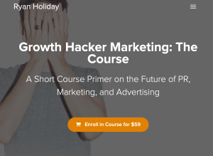 Read more about the article Ryan Holiday – Growth Hacker Marketing