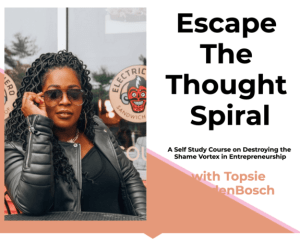 Read more about the article Temitope VandenBosch – Escape the Thought Spiral Course