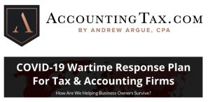 Read more about the article Andrew Argue – AccountingTax Programs + COVID 19 Consulting