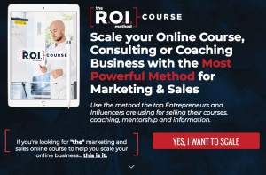Read more about the article Scott Oldford – The R.O.I Method Course