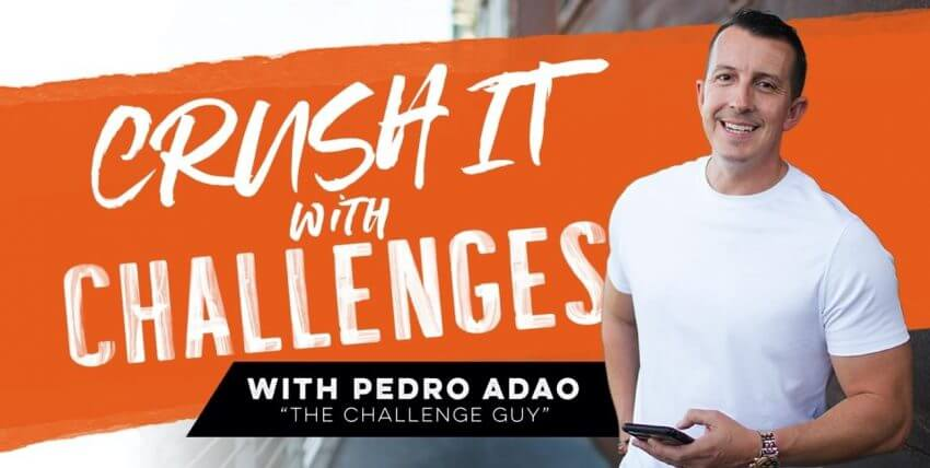 Pedro Adao – Crush It With Challenges (2020) - GETWSODO
