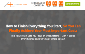 Read more about the article Asian Efficiency – Finisher's Fastlane