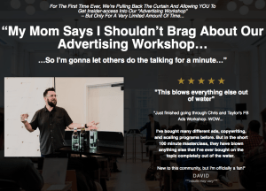Read more about the article Traffic and Funnels – Advertising Workshop