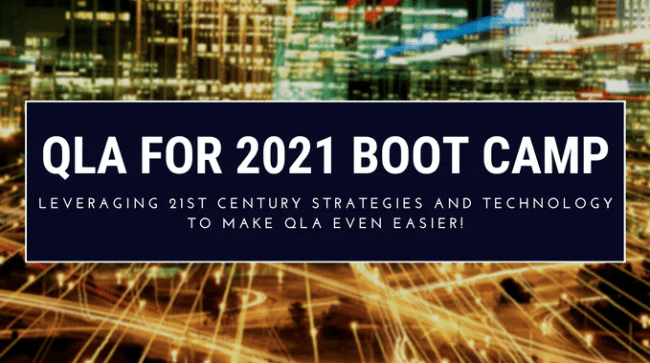 Read more about the article Bruce Whipple – QLA For 2021 Boot Camp