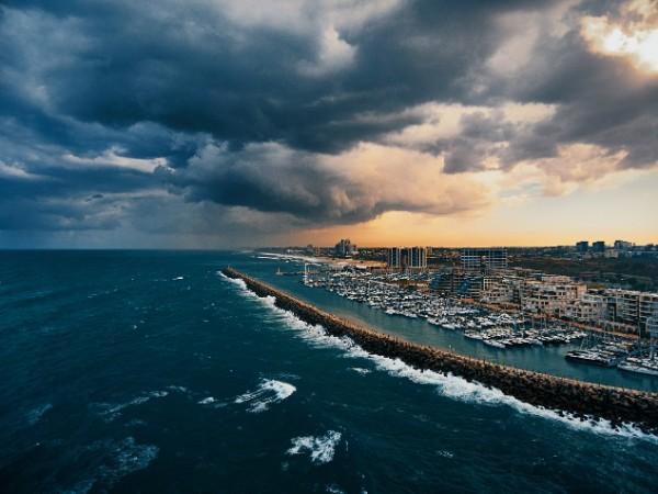 מצב הים והרוח - תחזית גלים 30.10.17