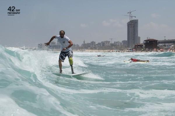 אליפות ישראל הראשונה בגלישת גלים לאנשים עם מוגבלויות