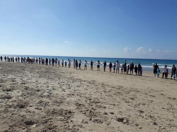 המאבק להרחקת אסדות הגז כמראה של החברה בישראל