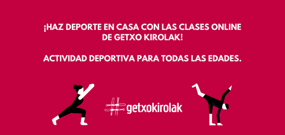 Cursos online de Getxo Kirolak