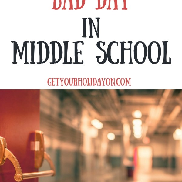 A Bad Day In Middle School