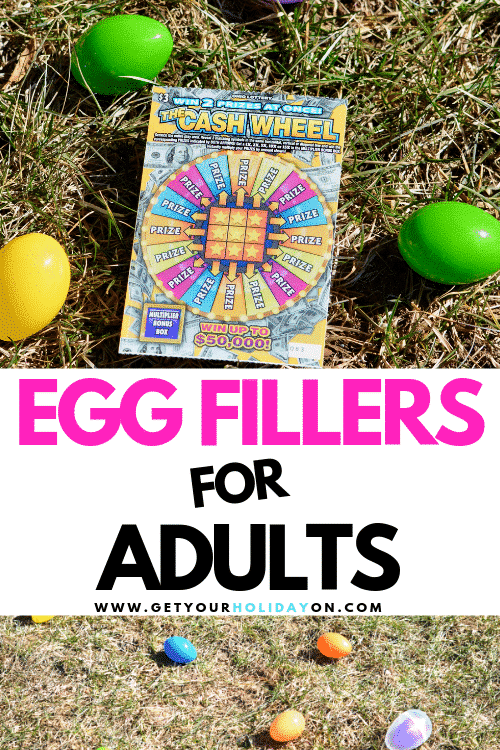 Here is an example of what to put Adult Easter Egg Hunt! That's not all we give your more Easter egg fillers for adults! Get your grown-up Easter egg hunt done in style!