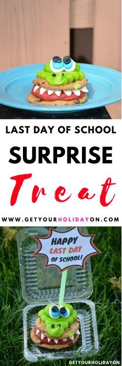 Last Day of School Treat for Kids #lastdayofschool #graduation #forkids #parenting