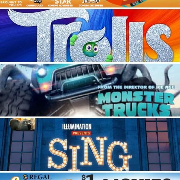 Regal 2017 Summer Movie Express