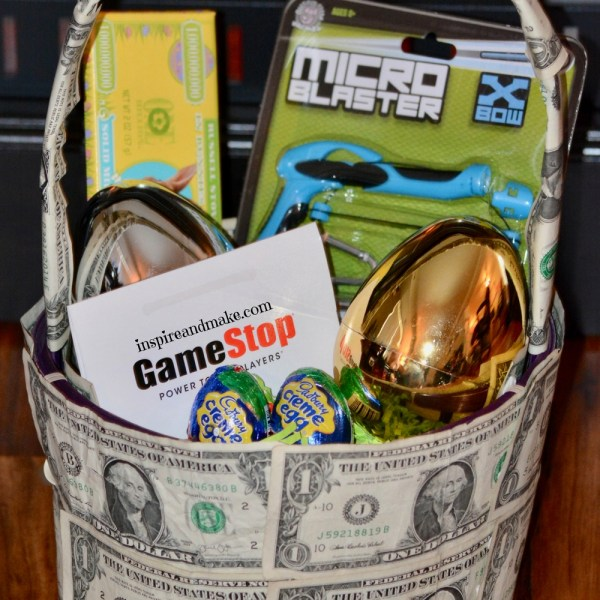 How To Create A Money Gift Basket