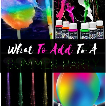 Wow! Check out these awesome finds that will add a ton of fun to any celebration. Glow in the dark fun and awesomeness to be unique, creative, and fun at your summer, birthday, or other special occasion party.