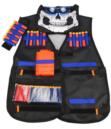 Awesome gift ideas for an 11 year old boy! Tactical Vest Kit For N-Strike Elite Series that kids really love. This would make a great boy or girl birthday gift or Christmas gift.