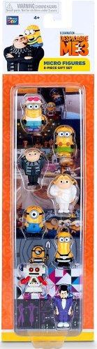 Despicable Me 3 Micro Figures 8 Piece Gift Set Collectible Series