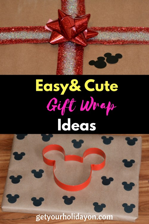 Adorable DIY Gift Wrap Ideas that will be so cute to take to your next party! Are you looking for gift wrap ideas? These simple and fun ideas are great to turn any present into a fun gift.
