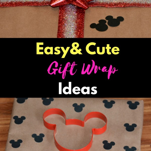 Adorable DIY Gift Wrap Ideas