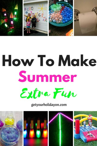 Schools out for the summer!Are you searching for ideas to make summer time extra fun?! Check out these tips and ideas to make summer vacation more interesting and fun.