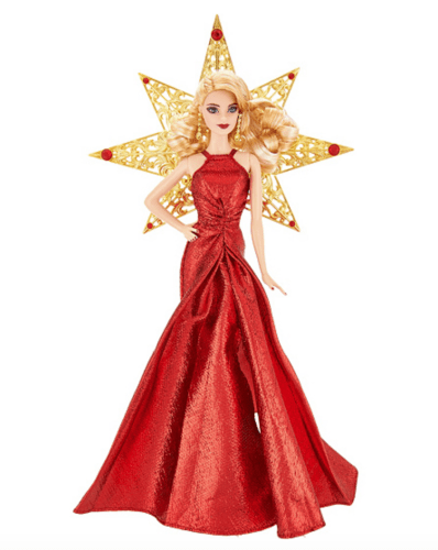 2017 Holiday Keepsake Collector Barbie Doll by Mattel Awesome Gifts for 11 year old girl.