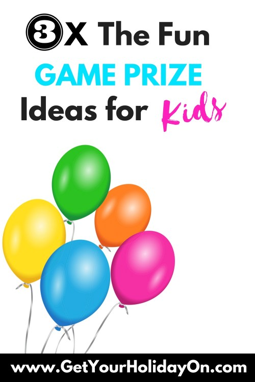 Do kid parties need prizes? YES! A party is tripple the fun with games prizes, party favors, white elephant gifts, gag gifts, or door prizes. When you make the kid game prizes extra fun and awesome… it's even that much better! www.getyourholidayon.com