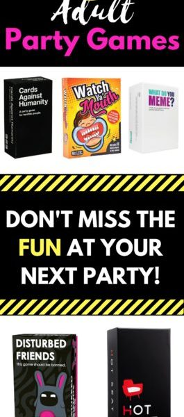 11 Adult Party Games