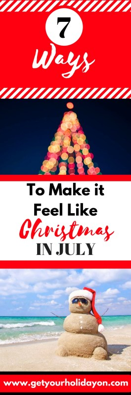 Are you searching for ideas to put a twist on summer and celebrate Christmas in July? These fun tips and tricks will help to bring out the spirit of Christmas and add extra fun to make it feel like Christmas in July!