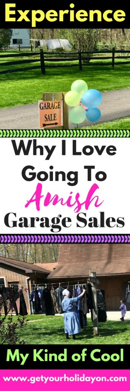 I love putting a twist on life and getting out and doing things that are out of the ordinary! I just think that is part of living; doing things that are crazy, fun, unique, and non-traditional. Such as anAmish Garage Sale Experience!