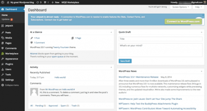 Have You Seen The Best Way To Start A Blog? Here is your WordPress set up.