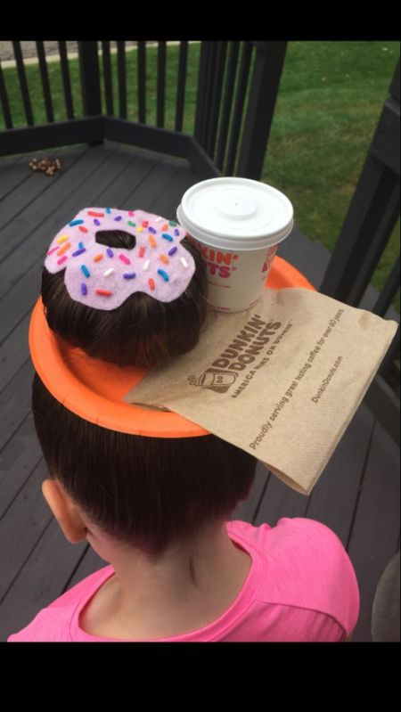 Now That's Some Crazy Dunkin Donut Hair