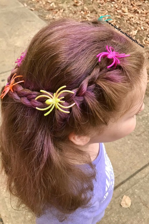 simple and easy crazy hair idea