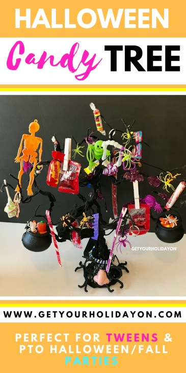 A Halloween Candy Tree | Perfect Idea for a School Classroom Party