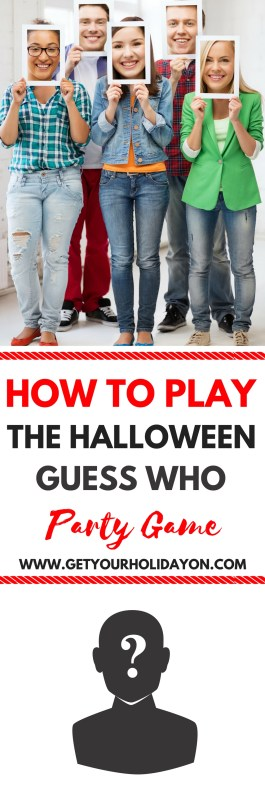 How To Play Halloween Guess Who| Get Your Holiday Party Started Right