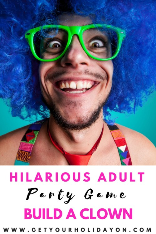Hilarious Adult Party Game| Build A Clown