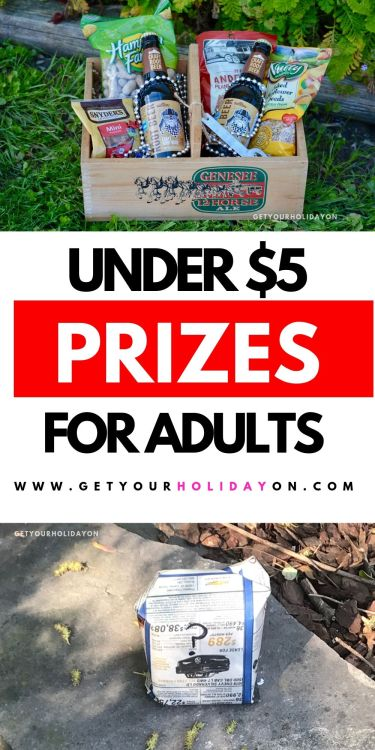 Cheap prizes adults will love! #prize #partyfavors #diys #party
