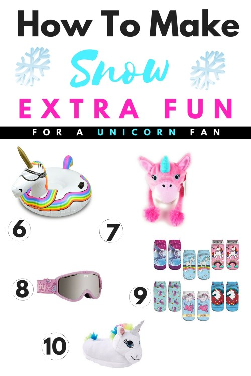 How To Make Snow Extra Fun For A Unicorn Fan #Unicorn #snow #Christmas #gift