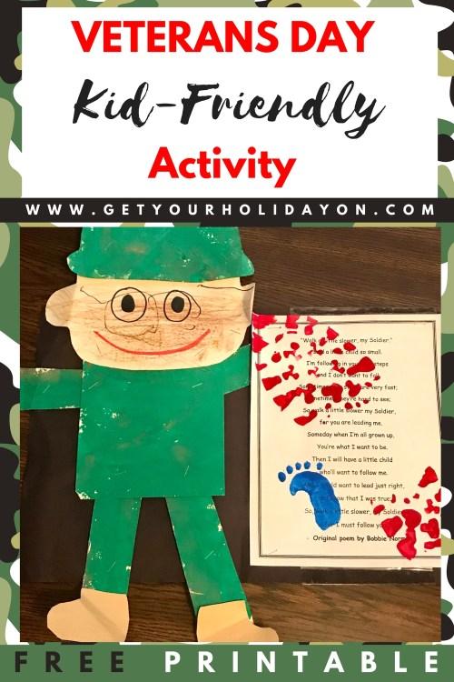Veterans Day Kid-Friendly Activity