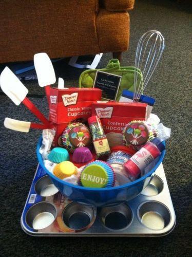 Teen Gift Ideas | Cake Gift Basket