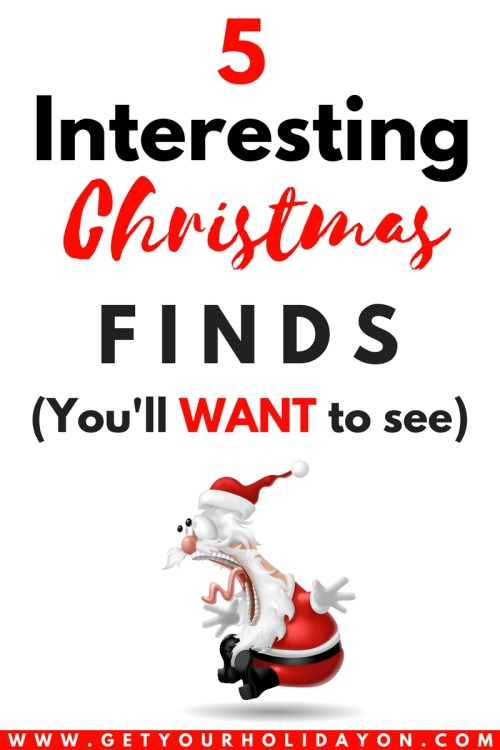 5 Interesting and Funny Christmas Finds #gift #funny #Christmas #gaggifts