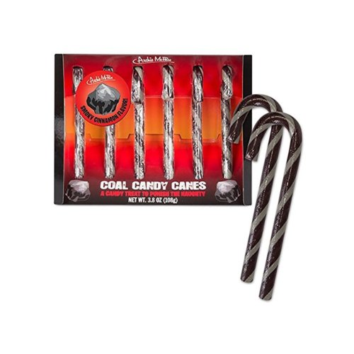 Coal Candy Canes | Interesting Christmas Find #coal #gifts #funnygifts #Christmas