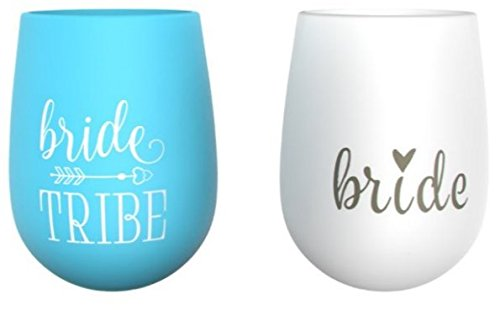 Wedding Party Gifts (Bridal Party Bride Tribe Cups)