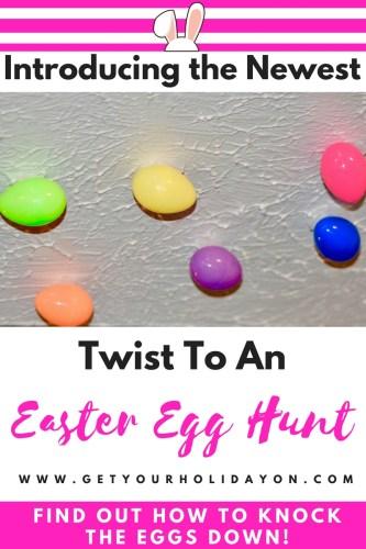 Ceiling Easter egg Hunt   Creative Easter egg Hunt for kids