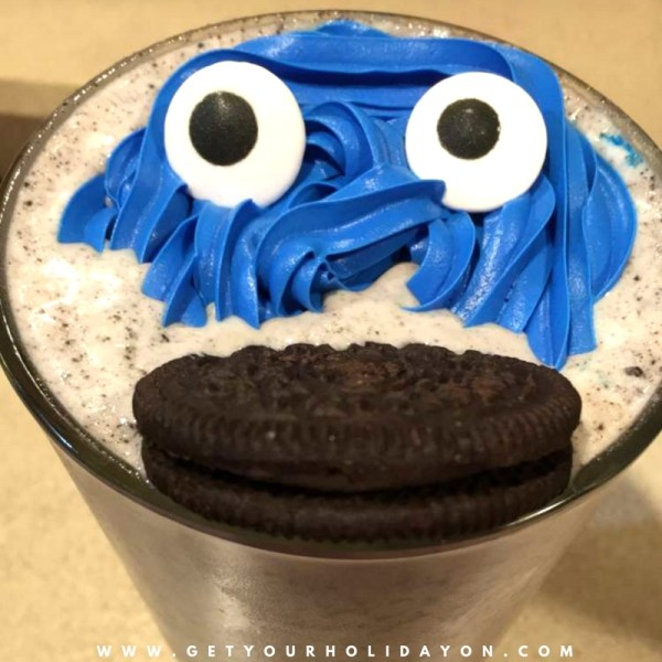 Cookie Monster Drink For Adults   alcohol drink   21 +