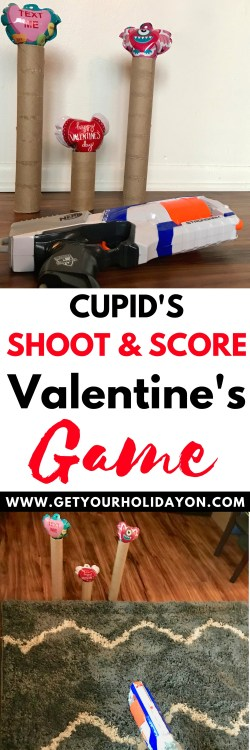 Take your best shot! A Cupid's Shoot and Score Valentine's Game | Kid-friendly Activity