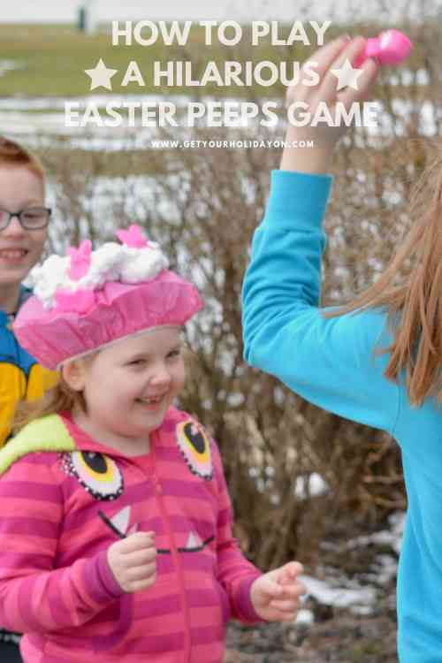 Easter Bunny Games for Kids that will make you laugh out loud. #crafts #diys #momlife #peeps