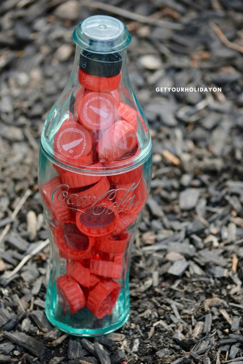 Free Patriotic Games for Kids or Adults Guess How Many Bottle Caps | A Coca Cola Game #coke #game #party #bottlecaps