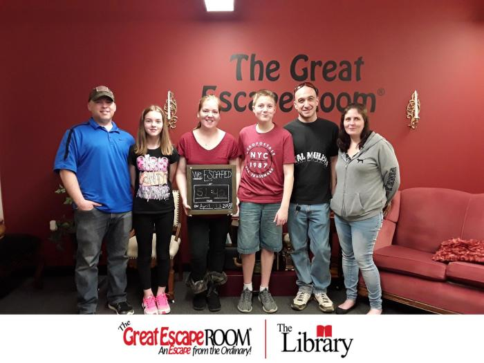 The Great Escape Room Review | A fun experience for the whole family
