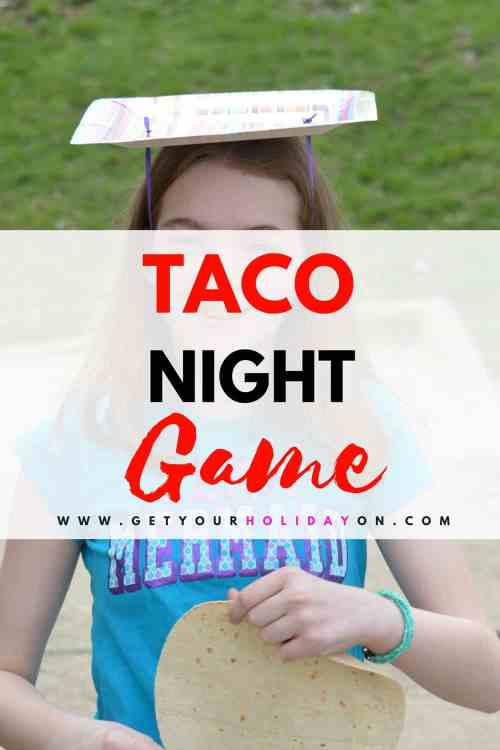 Taco Night Game Time #party #game #fun #taconight