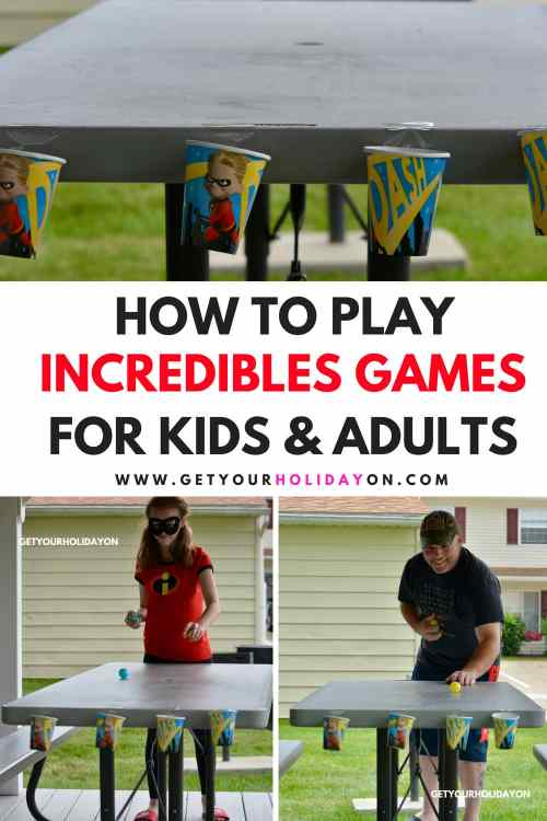 The best part about this Incredibles game is it's fun and challenging at the same time. Our entire family kids and grown-ups had a blast playing this game. #disney #childhood #play #party