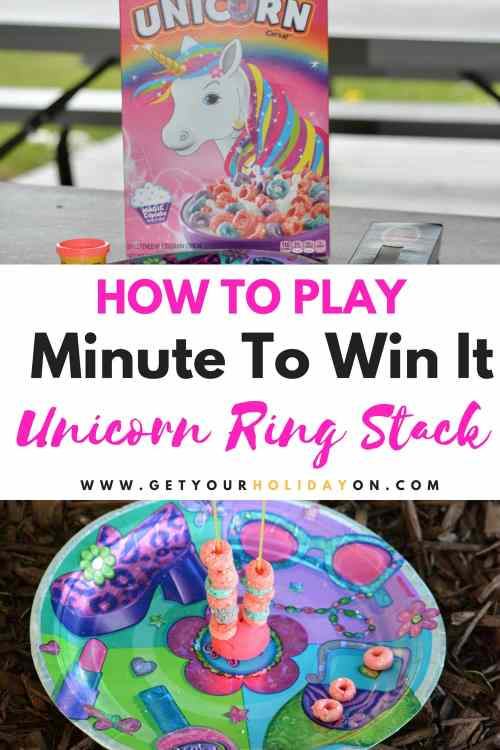 Find Out the Best Part About this Unicorn Ring Stack Game #feet #games #momlife #diysummer